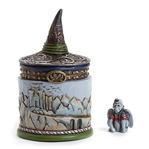 Jim Shore Wizard of OZ Witch Hat Treasure Box - Wizard Of Oz Witch