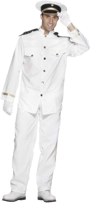Fancy Dress World 25971 - Disfraz de capitán Oficial Marinero ...