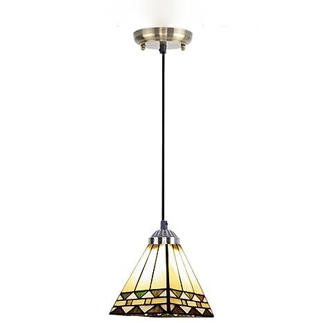 Para lámparas de techo de estilo europeo jardín de tres ...