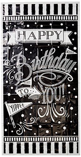 Vertical Giant Sign Banner | Black & White Collection | Birthday -