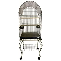YML 600AGOLD Parrot Cage, Gold