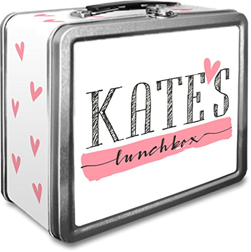 Custom Metal Lunch Boxes - Personalized Metal Lunch Box (Scribble Name)