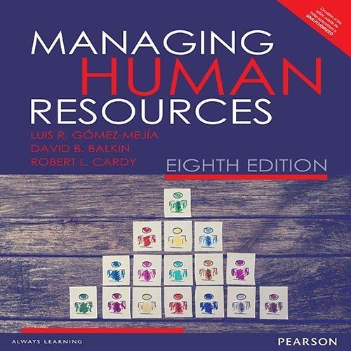 Managing Human Resources by David B. Balkin,Robert L. Cardy Luis R. G?de?ed??ede??d???mez-Mejia (2015-12-25)