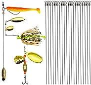 Dovesun Fishing Spinner Baits Making Kit Fishing LureMakingKitFishing Spinner Shaft Wire SpinnerClevis