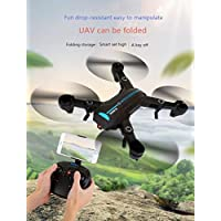 Fytoo helicopter with WiFi real-time transmission A6W wifi 0.3M set-high type foldable four-axis remote control aircraft Rc Drone 360 degree 3D flip Aircraft