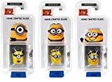 Despicable Me Glassworld Minion Hand Crafted Glass - Carl Dave and Jerry
