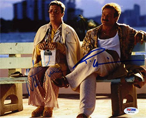 The Birdcage Robin Williams & Nathan Lane Signed 8x10 Photo Certified Authentic PSA/DNA COA (Williams Robin Autograph)