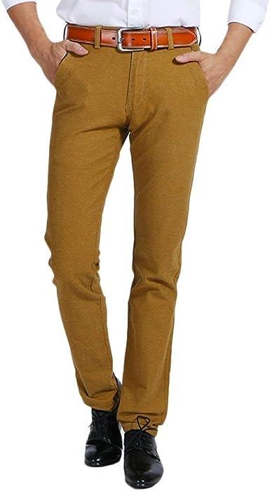 Pantalones Informales De Hombre De Algodon Con Sandalias Pantalones De Estilo Elastico Ajustados De Verano Skin Skin Friendly Amazon Es Ropa Y Accesorios