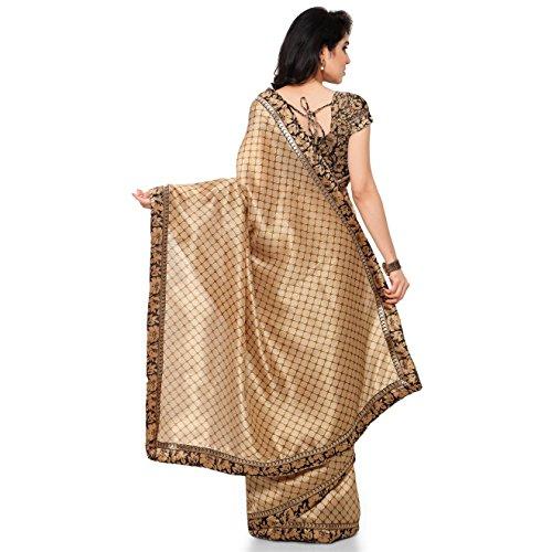 Rajnandini-Womens-Ethnic-Wear-Tussar-Silk-Printed-Saree-Free-Size-Beige