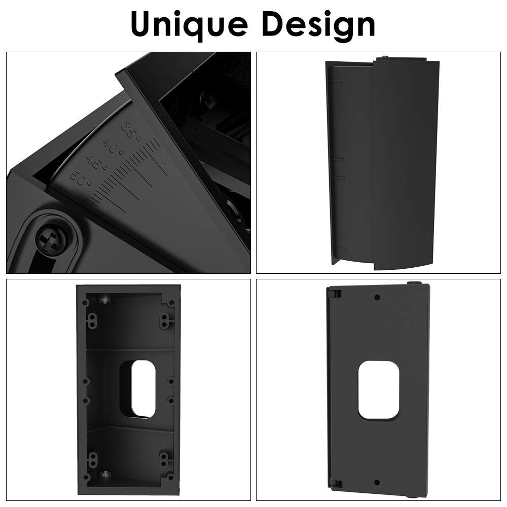 Verstellbare Winkelhalterung mit Grad Skala für Ring Video Doorbell 2 und Ring