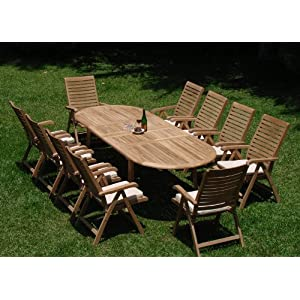 51SLfhA-O4L._SS300_ Teak Dining Tables & Teak Dining Sets