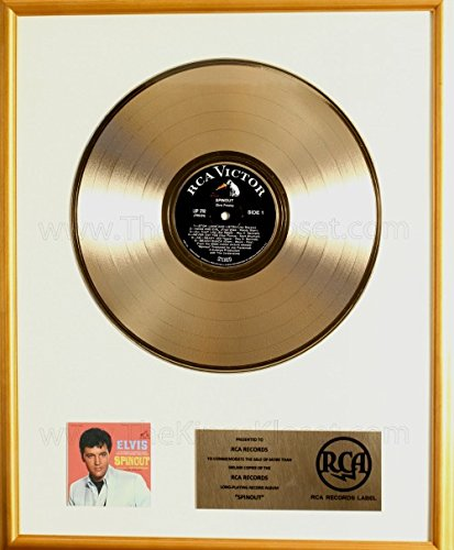 Elvis Presley Spinout Soundtrack LP Gold Record Award RCA Records (Elvis Track)