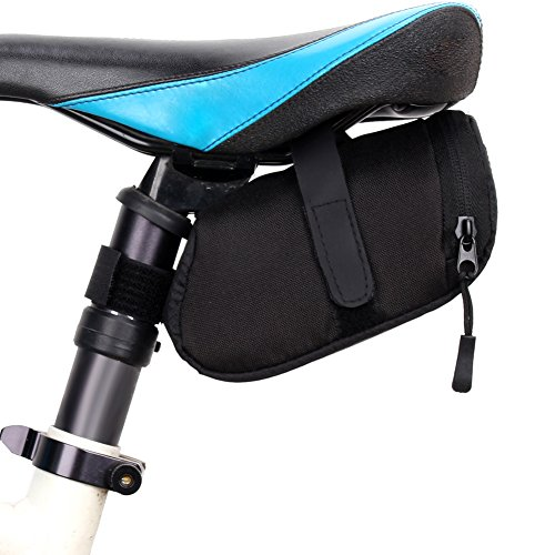 Bicycle Saddle Bag- Road Bike Accessories - Bike Waterproof Storage Saddle Bag Seat Cycling Tail Rear Pouch Bag Saddle Bolsa Bicicleta - Under Bike Seat Bag - Bicycle Accessories Bag (Accessories Saddlebag)