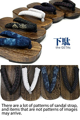 Pictures of KYOETSU Boys Japanese Wooden Geta Sandals Brown ( 2010102 4