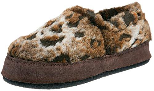 ACORN Women's Acorn Moc Slip-On Loafer (Medium / 6.5-7.5 B(M) US, Rust Ocelot)