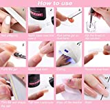 Makartt Poly Nail Extension Gel French Manicure Kit
