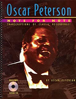 Oscar peterson originals transcriptions lead sheets and oscar peterson note for note fandeluxe Image collections