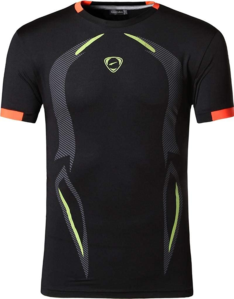 Sportides Gran Chico Dry Active Sport Short Sleeve Breathable T-Shirt Casual tee Top LBS701