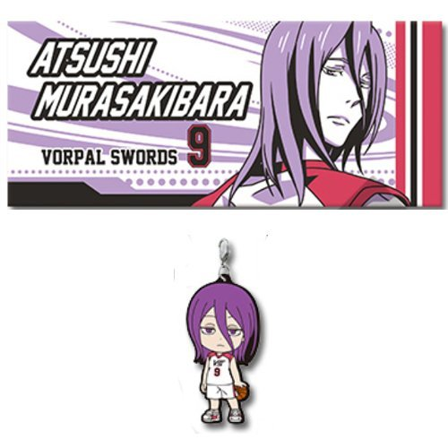The most lottery theater version of Kuroko's Basketball LAST GAME Atsushi Murasakibaru M Prize face towel + Q Award rubber strap set