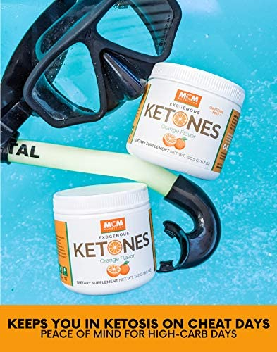 MCM Nutrition – Exogenous Ketones Supplement & BHB - Boosts Energy & Suppresses Appetite - Instant Keto Mix That Puts You into Ketosis Quick & Boosts The Keto Diet (Orange - 15 Servings) 4