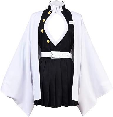 Demon Slayer Kimetsu No Yaiba Kanroji Mitsuri Cosplay Costume Coat Full Suit Kimetsu no yaiba kanroji mitsuri cosplay costume. pesso co il