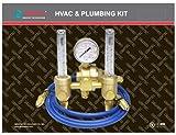 Gentec 196AR-60-6HSP Dual Flowmeter Regulator Kit