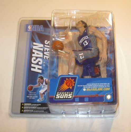 (McFarlanes Sportspicks NBA Series 10 : Steve Nash - Grey / Blue Jersey CHASE / VARIANT by Unknown)