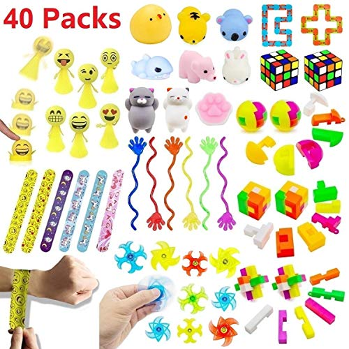 Party Favors for Kids 40 PCS Toy Assortment, Birthday Party, School Classroom Rewards, Carnival Prizes, Pinata Fillers, Goodie Bag Fillers, Party Toys, Kids Prizes Box Toys