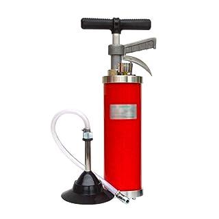 YHNUJMIK Tubería Dragar Un Trago Cocina baño Herramienta de Limpieza de Bloque de alcantarillado Bombeo de Gas a Alta presión