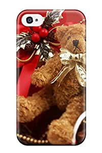 Fashionable Style Case Cover Skin For Iphone 4/4s- Holiday Christmas