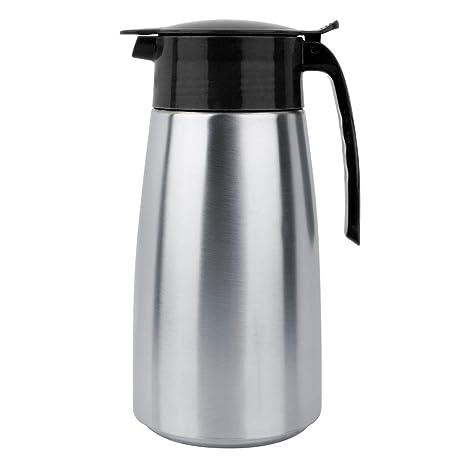 Pasamer Jarra de Agua 1.6L de Acero Inoxidable para Jugo de Leche y café(05)