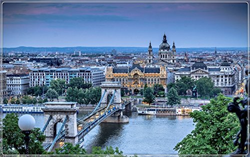 Budapest, the capital of Hungary Postcard Post card