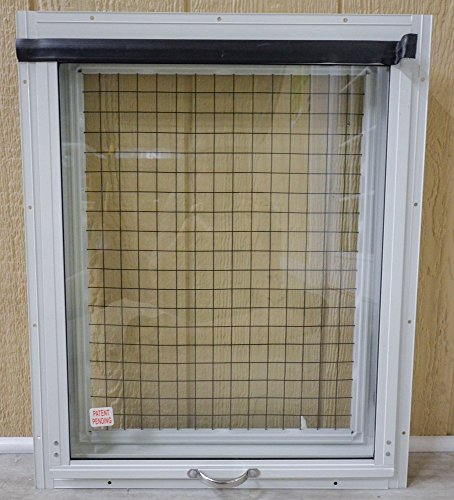 CHICKEN COOP-24x27-WHITEPATENT PENDING by Apple Outdoor Supply