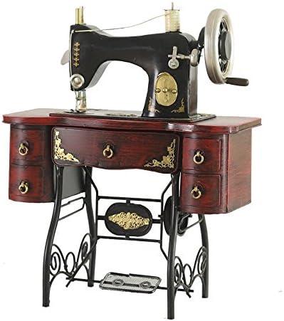 GFEI Nostalgia antigua maquina de coser modelo / retro tienda de decoración de ventanas hierro PROPS / Muebles Decoracion: Amazon.es: Hogar