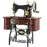 GFEI Nostalgia antigua maquina de coser modelo / retro tienda de decoración de ventanas hierro PROPS
