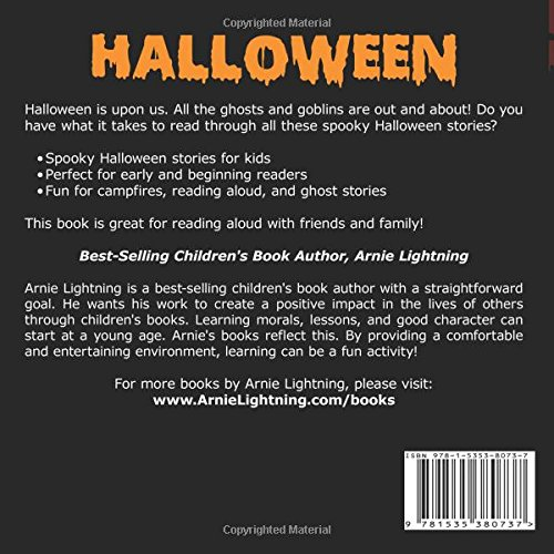 halloween spooky halloween stories scary halloween stories for  halloween spooky halloween stories scary halloween stories for kids volume 2 arnie lightning 9781535380737 com books