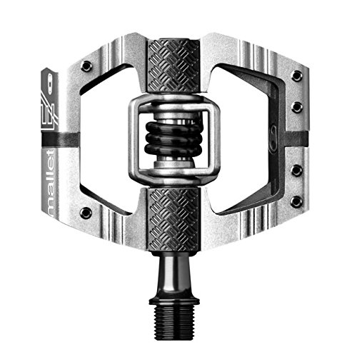 CRANKBROTHERs Crank Brothers Mallet Enduro Long Spindle Pedal, Silver ()
