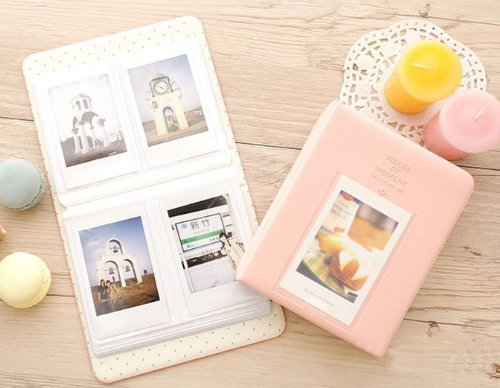 Amazoncom Fuji Instax Mini Photo Album Caiul Pieces Of Moment