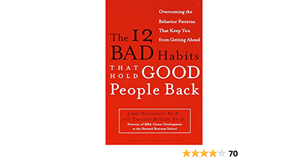 The 12 bad habits that hold good people back pdf free download windows