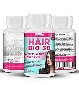 Hairflair Hair Growth Vitamins With Biotin For Longer Stronger Faster Healthier