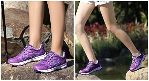 Traspiranti Running Scarpe Top DANDANJIE Indossare antiusura Viola da Donna da Low Jogging Wearable Outdoor Scarpe HdwqPw7XTx