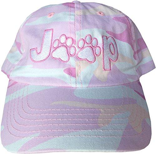 Kati Jeep Paws Pink Fashion Camo Hat