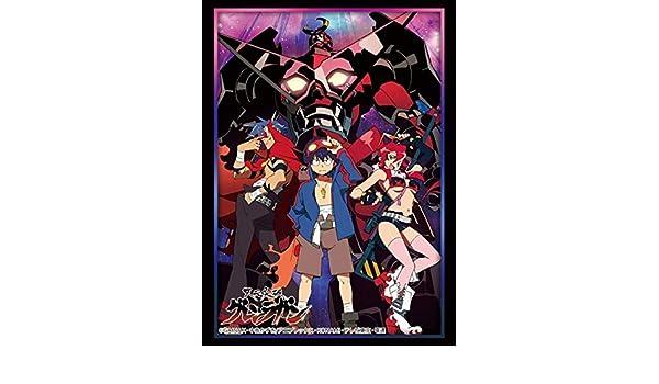 Gurren Lagann Tengen Toppa Yoko Simon Kamina Card Game Character Sleeves Collection HG Vol.1683 P.2 High Grade Anime Art