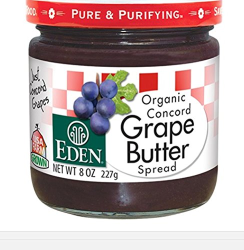 Eden Foods Grape Butter Org (Organic Grape Jam compare prices)