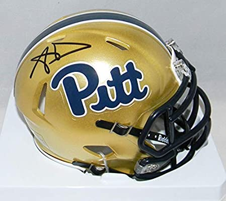 cada544bd Aaron Donald Autographed Signed Pitt Pittsburgh Panthers Speed Mini Helmet  - PSA DNA Certified - Autographed College Mini Helmets