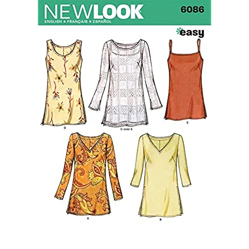 Tops Sewing Pattern: Amazon.com