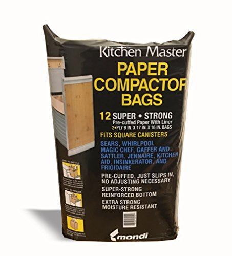 Master Bag (Kitchen Master Super Strong Compactor Bags Pre Cuffed (12 Pack))