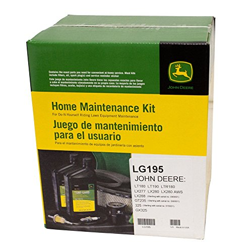 John Deere Original Equipment Filter Kit #LG195