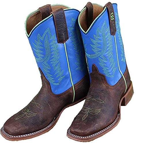 (Amazon Bean Kids Toast Bison Western Cowboy Boot )