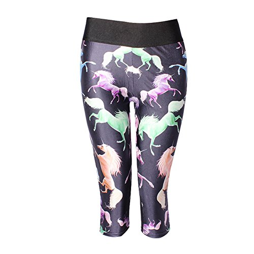 Womens Printed Active Workout Leggings